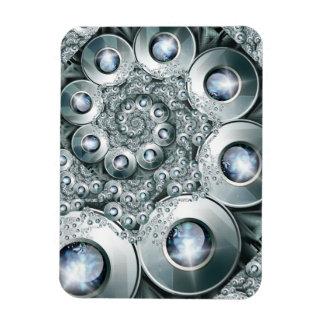 Over jeweled Premium Magnet