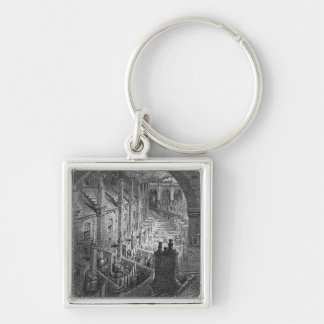 Over London - By Rail Keychains