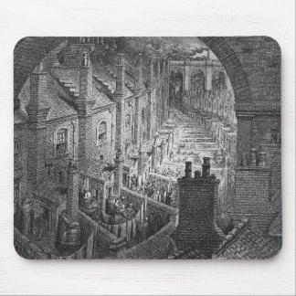 Over London - By Rail Mouse Pad
