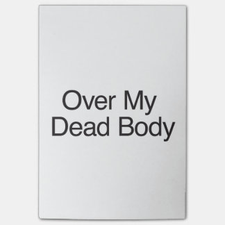 Over My Dead Body.ai Post-it® Notes