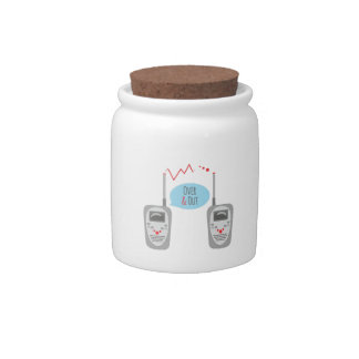 Over & Out Candy Jars