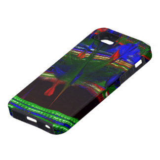 OVER PAINT ROOFTOP ABSTRACT MANDELBULB 3D FRACTAL iPhone SE/5/5s CASE