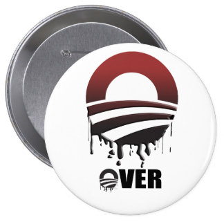 OVER PINBACK BUTTON