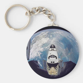 Over shuttle view keychain