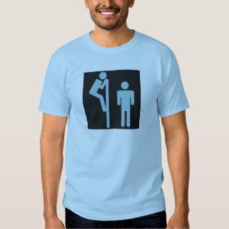 Over Stall Peeper Voyeur Public Restroom Shirt