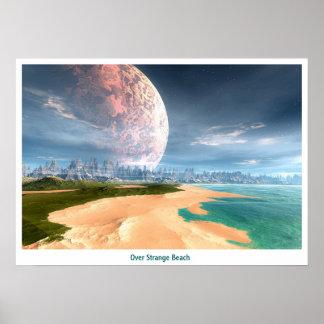 Over Strange Beaches Posters