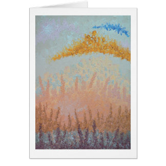 Over That Distant Hill - Blank Inside Greeting Card