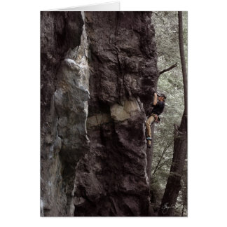 Over the Dike, Rock Climbing in Rumney New Hampshi Card