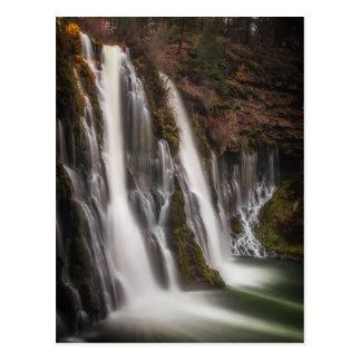 Over the Edge Burney Falls Postcard