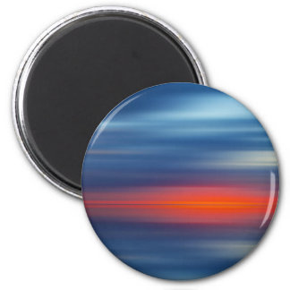Over the Edge Sunset Magnet