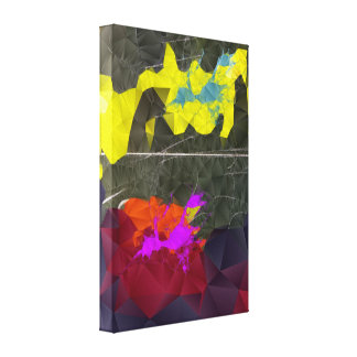 Over The Edge - Wrapped Canvas Art