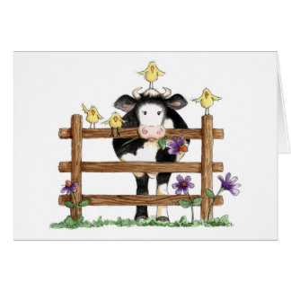 Over the Fence - Note Card
