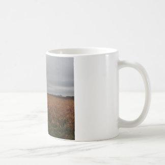 Over the fields coffee mug
