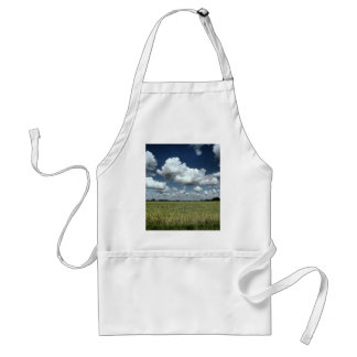 Over the fields we go aprons