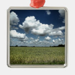 Over the fields we go christmas tree ornament