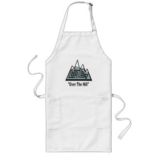 Over The Hill 50th Birthday Gifts Aprons