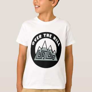 Over The Hill 50th Birthday Gifts T-Shirt