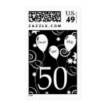 Over the Hill 50th Birthday Postage