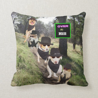 Over the Hill American MoJo Pillow