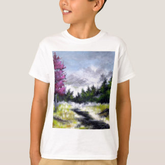 Over the Hill and Ove the Mountains Design T-Shirt