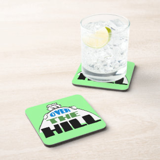 Over the Hill Beverage Coaster