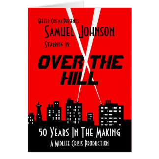 Over The Hill Birthday Cards
