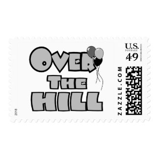 Over The Hill Birthday Gifts and Apparel Postage