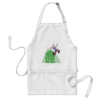 Over The Hill Birthday Gifts Apron