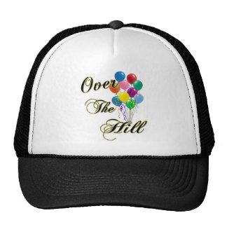 Over The Hill Birthday Hat & Birthday Caps Hat