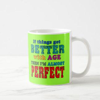 Over the Hill Birthday Humor Classic White Coffee Mug