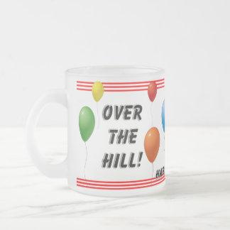 Over The Hill Birthday Mugs