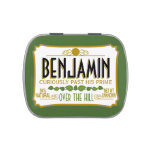 Over the Hill Birthday Party Favor Candy Tins at Zazzle