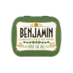 Over the Hill Birthday Party Favor Jelly Belly Tins at Zazzle