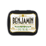 Over the Hill Birthday Party Mints Jelly Belly Tin