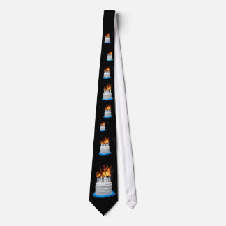 Over the hill birthday tie