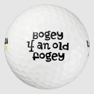 Over The Hill Bogey Golf Balls