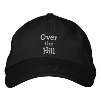 Over the hill cap baseball cap
