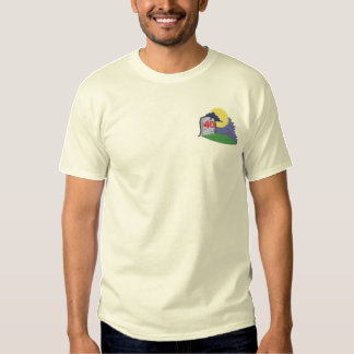 Over The Hill Embroidered T-Shirt