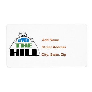 Over the Hill Label