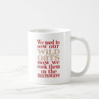 Over the Hill-Oats Classic White Coffee Mug