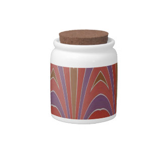 Over the Hilltop Aztec Candy Jar