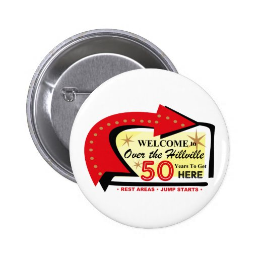 Over The Hillville 50 Buttons