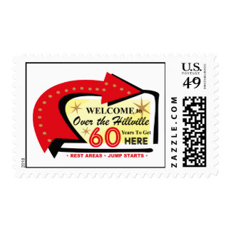 Over The Hillville 60 Postage Stamp