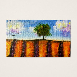 Over the Lavender Fields Business Cards