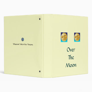 Over The Moon 3 Ring Binder