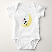 Over The Moon Baby Bodysuit