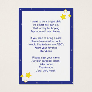 Over the Moon  |  Baby Bring a Book Card