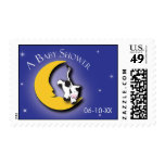 Over the Moon | Baby Shower Stamp
