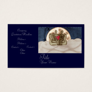 Over the Moon Business Card
