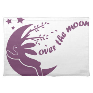 Over The Moon Cloth Placemat